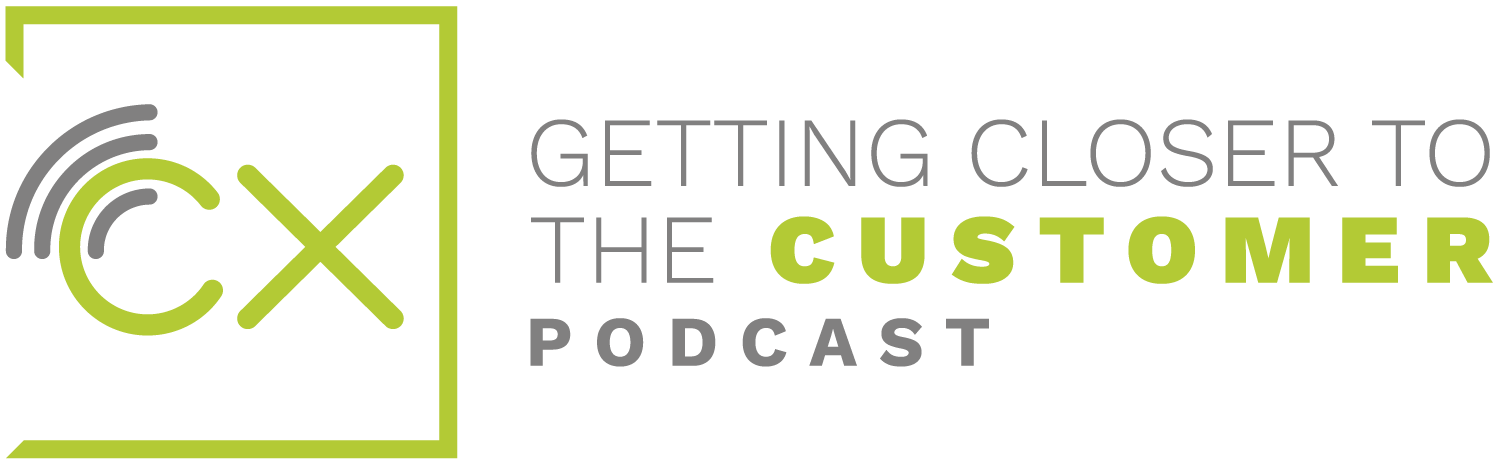 Cx Podcast Getting Closer to the Customer Logo